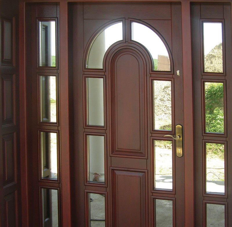 Drzwi zewnętrzne szerokie